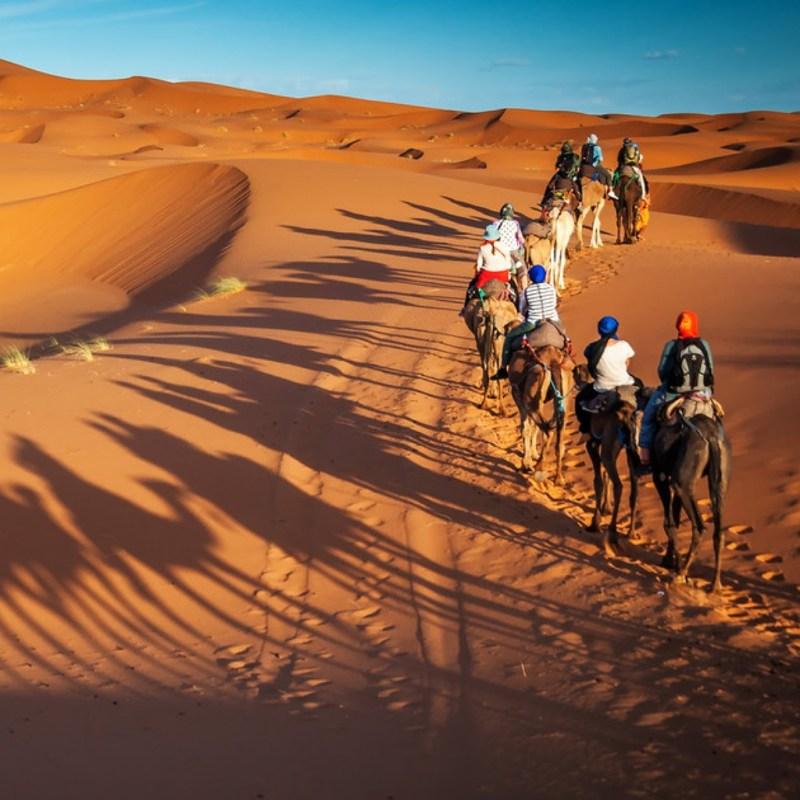 Overnight desert camp Morocco