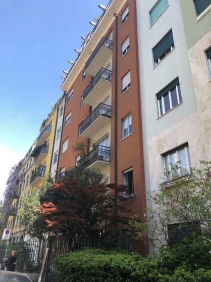 Gio Ponti buildings opposite aCULT partment