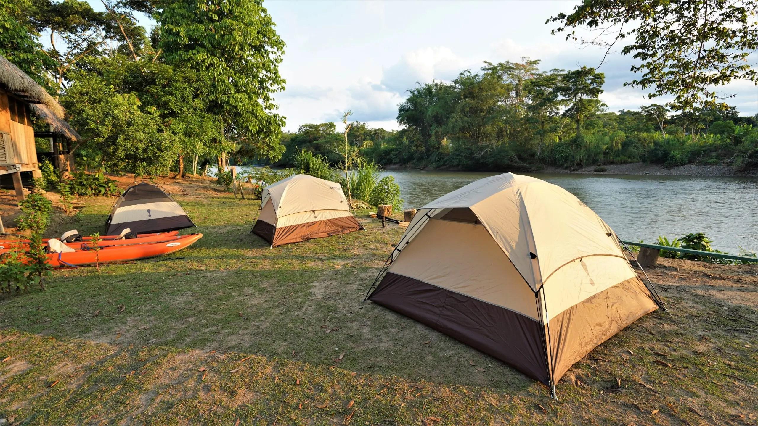 Camping Rio Arajuno