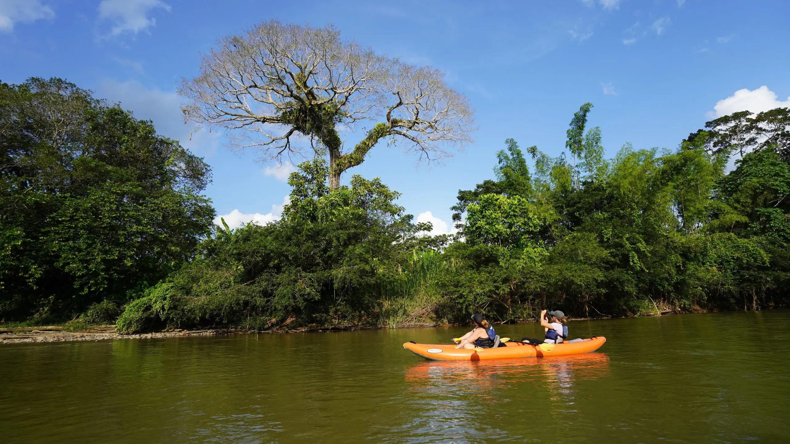 Kayaking Ecuador