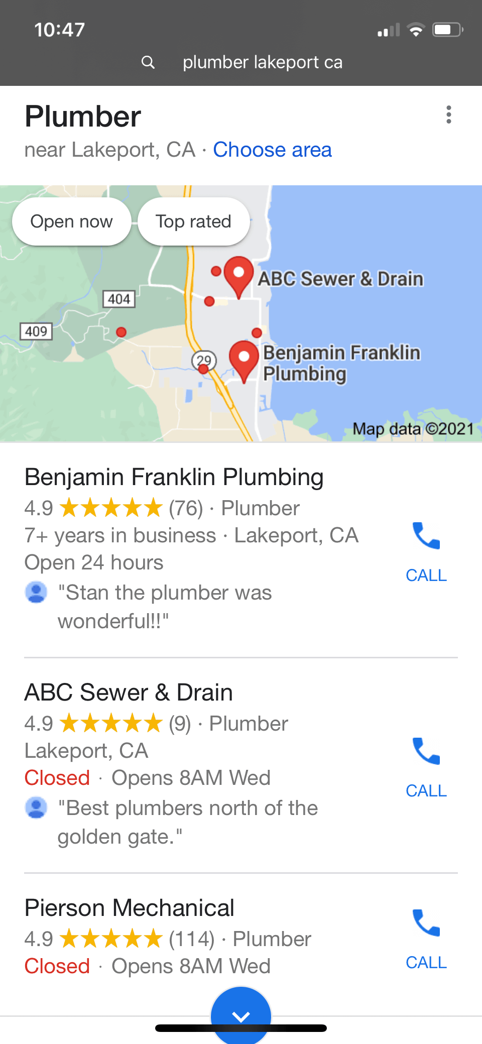 SEO Service for Plumbers
