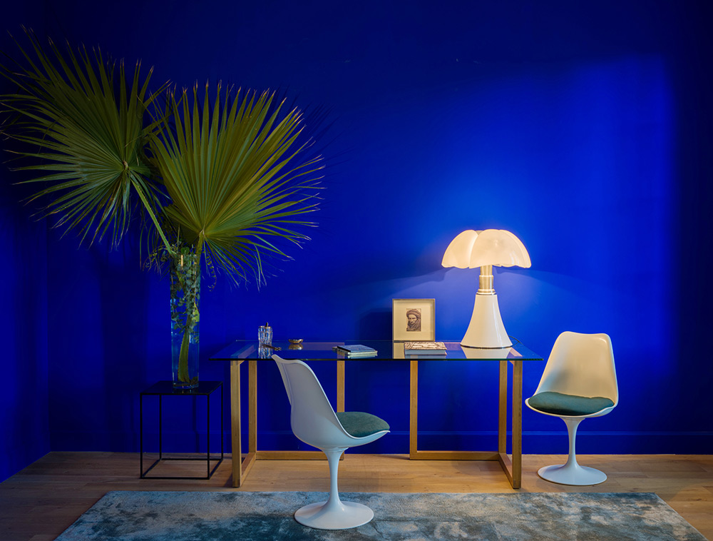 Powerful Yves Klein Blue Paint Color And
