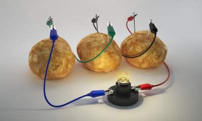 baterie cartofi