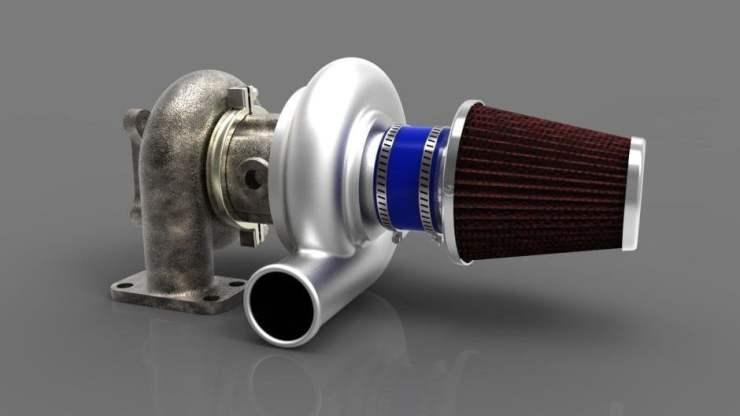 turbina diesel