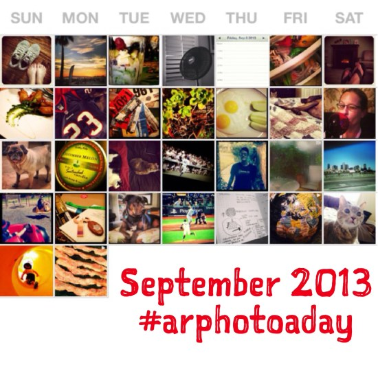 September #ARphotoaday Snapshot from Authentic Realities