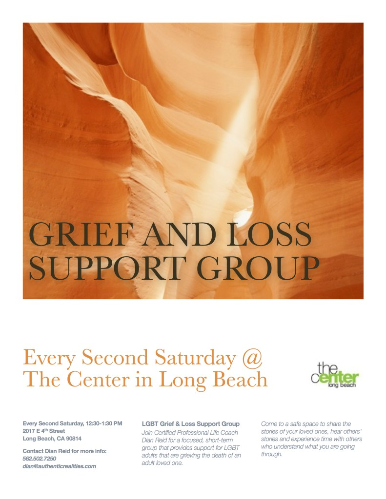 Grief and Loss Support Group at The Center in Long Beach, CA