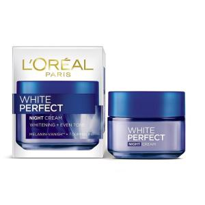 L'oreal White Perfect Night Cream 50 Ml