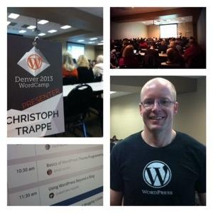 Christoph Trappe at WordCamp Denver 2013