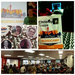 Christoph Trappe at WordCamp Vegas