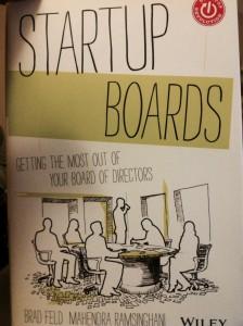 """Startup Boards"" by Brad Feld and Mahendra Ramsinghani"
