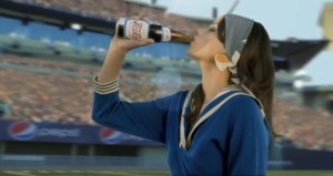 Pepsi halftime commercial