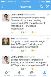 WordCamp Omaha Tweets