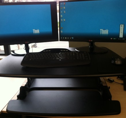 How to be comfortable at work (Standup desks, treadmills, gaming chair)