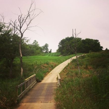 running in southern Iowa - Honey Creek Resort