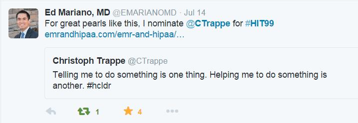 telling nomination