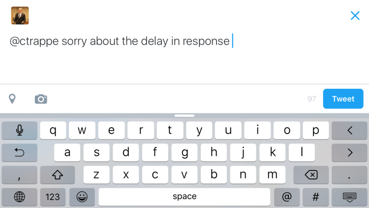 It's rarely best to not respond…