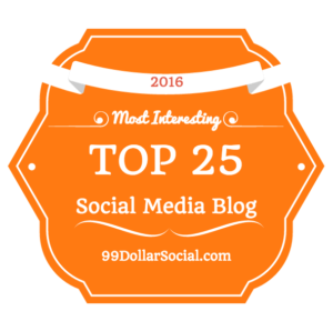 top 25 most interesting social media blog