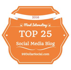top 25 most interesting social media blog