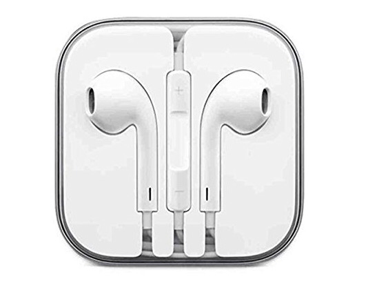Apple iPhone headphones for the gym