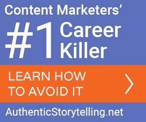 the no. 1 content marketing career killer