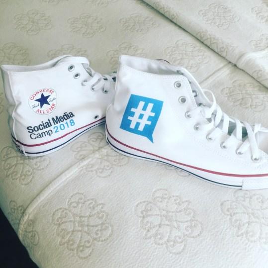 social media camp shoes