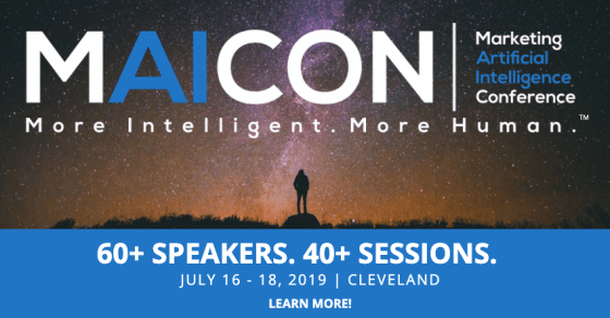 AI for marketing conference
