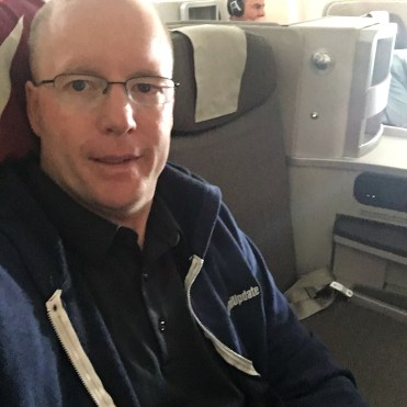 Flying business class on Iberia
