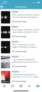 Periscope listener numbers in tiple digits