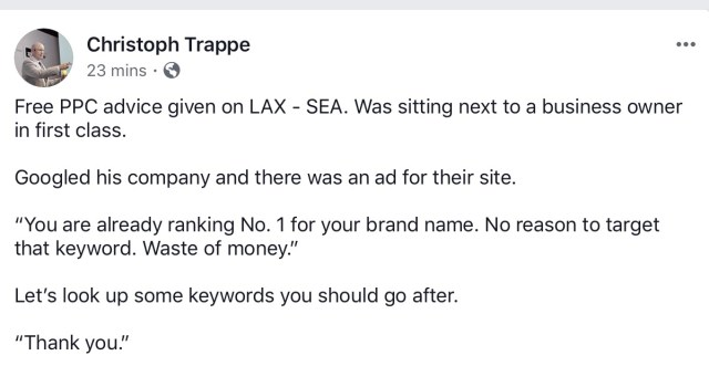 Should I target my branded keyword on paid search?