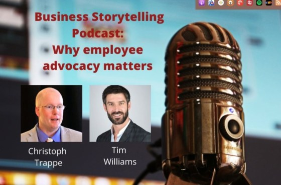Employee advocacy podcast
