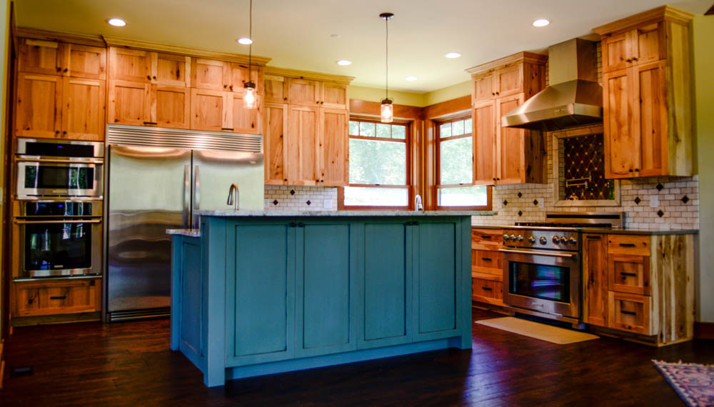 Custom wood furniture and cabinets in Auburn