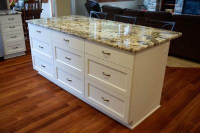 Custom wood cabinets in Auburn