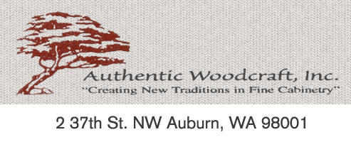authentic woodcraft logo