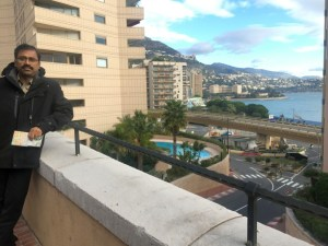 On the F1 track, Monte carlo