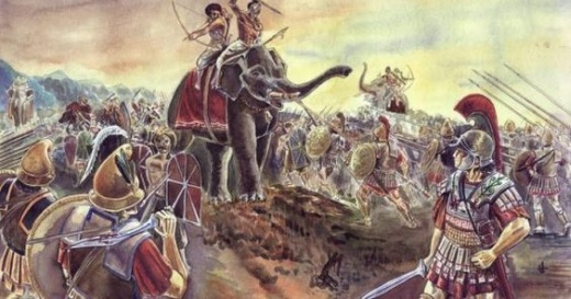 King Porus vs Alexander The Great war