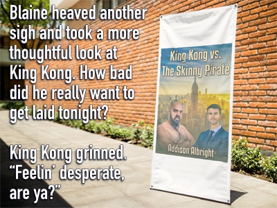 Promo - Teaser - King Kong vs. The Skinny Pirate