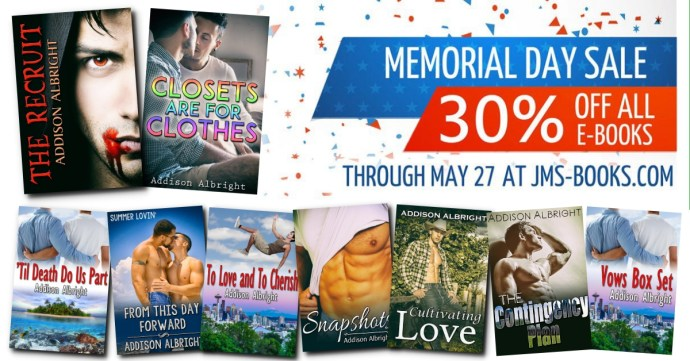 Sale - JMS - Memorial Day 2018