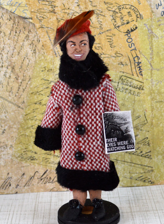 Zora Neale Hurston doll