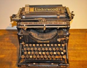 Mitchells typewriter