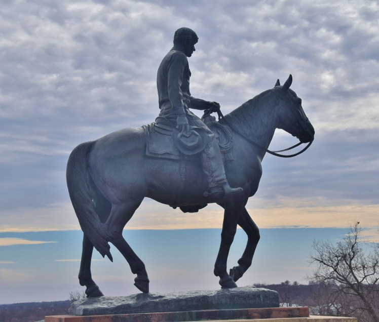 Will Rogers Statue in Claremore