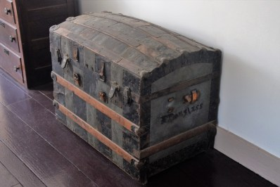 Douglass's trunk used on his speaking tours ©Author Adventures