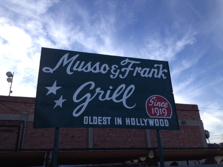Musso and Frank © Author Adventures