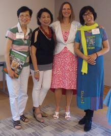 Authors with Host Muriel Kao