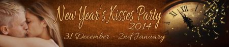 Kisses 2014 New Years Party