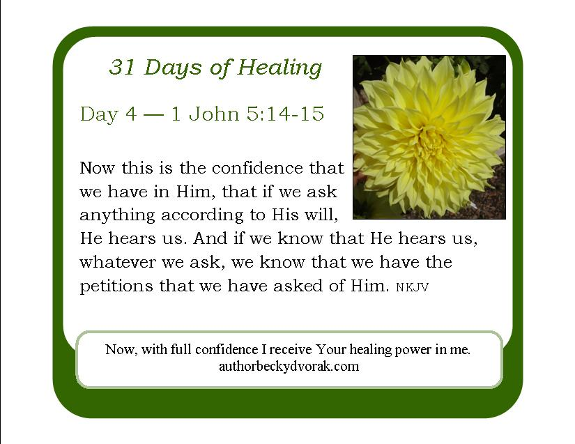 31 Days of Healing Scriptures - Becky Dvorak - Healing And Miracles