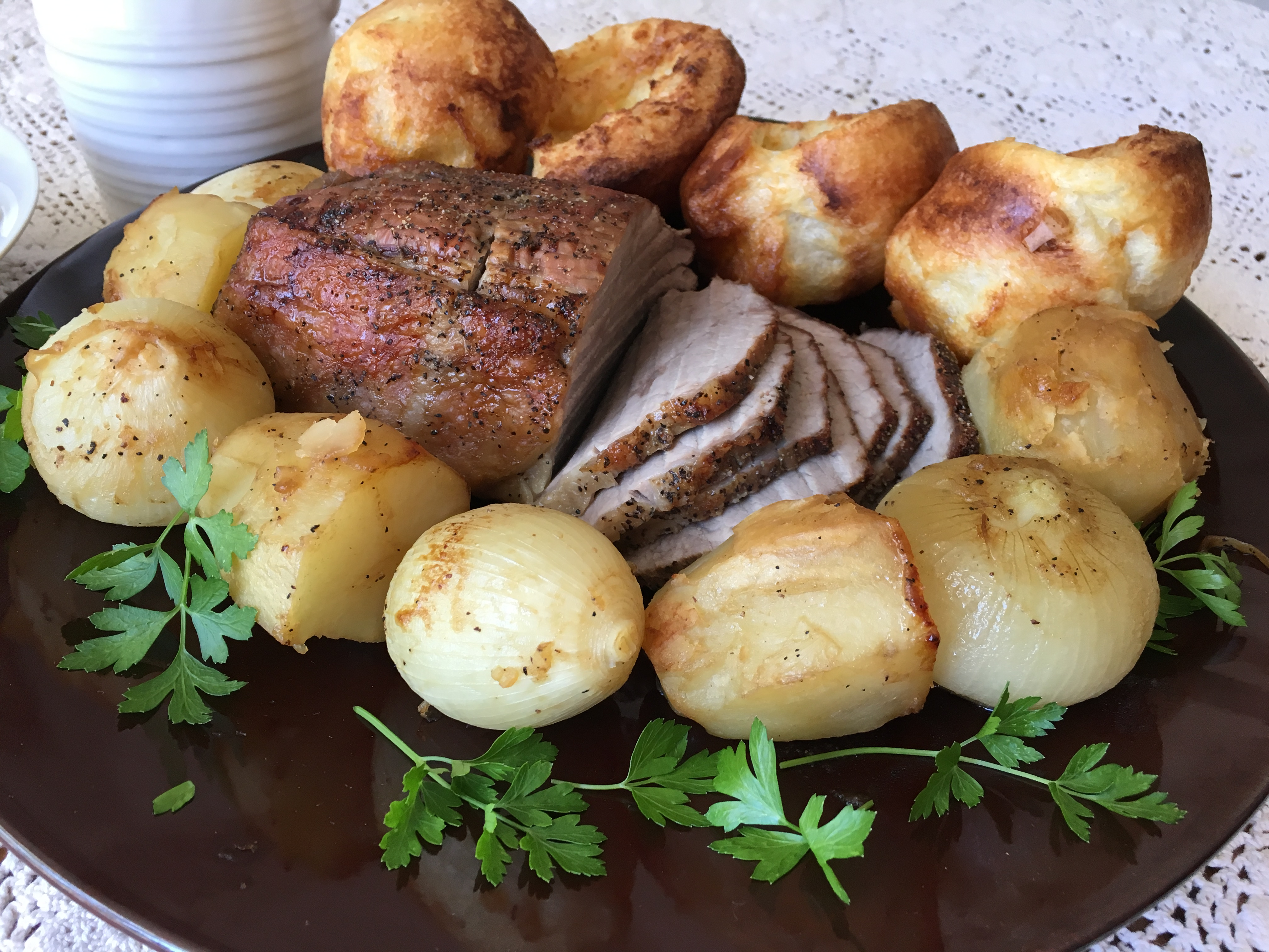 Roast Beef and Yorkshire Pudding