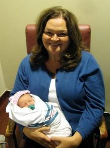 Aimee:Newborn & Grandma