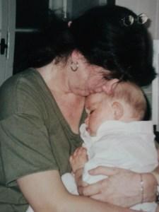 Baby Laura before she had hair