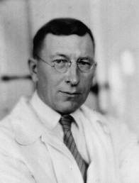 photo of insulin discoverer, Dr Frederick Banting
