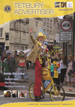 Cover of Tetbury Advertiser